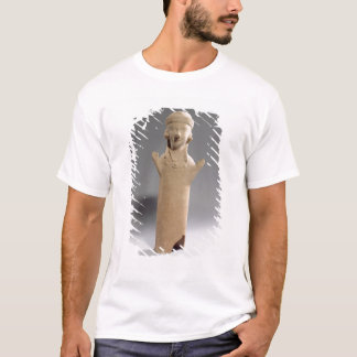 Goddess or worshipper with raised arms, figurine, T-Shirt