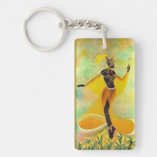 Goddess Oshun, Key Chain