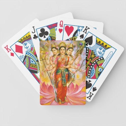 goddess playing cards