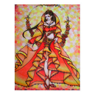 Goddess Post Card