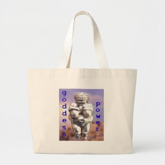 Goddess Power - Venus of Willendorf Tote Bag