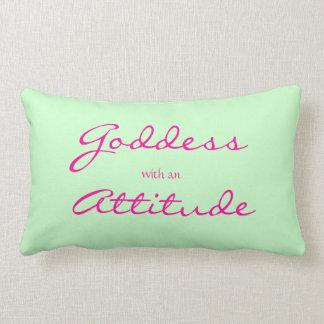 Goddess Quote American MoJo Pillow