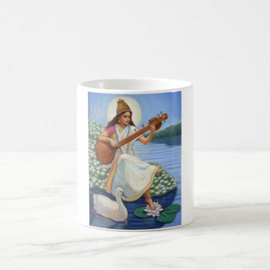 Goddess Sarasvati Coffee Mug