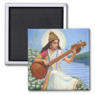 Goddess Sarasvati Magnet