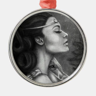 Goddess Selene Premium Ornament