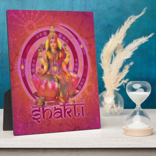 Goddess SHAKTI / LAKSHMI Photo Plaques