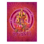 Goddess SHAKTI / LAKSHMI Post Cards