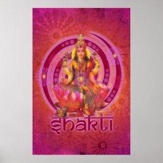 Goddess SHAKTI / LAKSHMI Poster