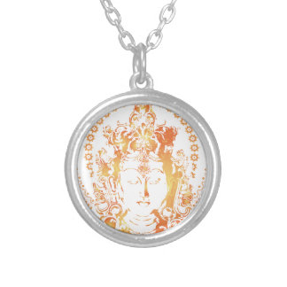 Goddess Silver Plated Necklace