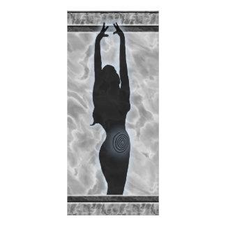 Goddess Spiral Rack Card Design