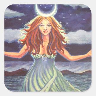 Goddess Sticker - 'Queen Of The Tides'