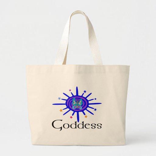 Goddess Sun and Stars Jumbo Tote Bag