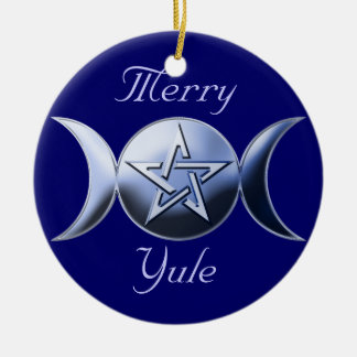 Goddess Symbol Tree Ornament circle