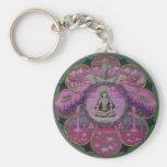 Goddess Tara Mandala key chain