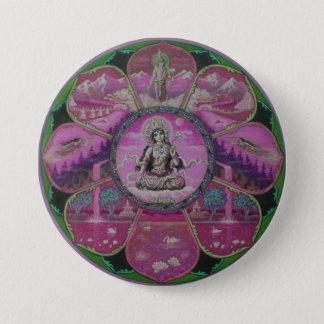 Goddess Tara Mandala Pinback Button