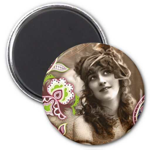 Goddess - Vintage Retro Nude Woman Erotica Refrigerator Magnets