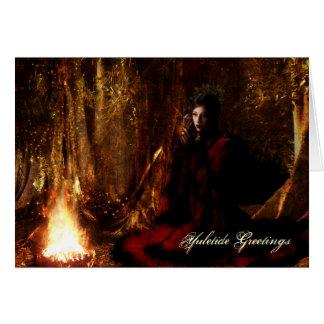 Goddess Yuletide Greetings Cards