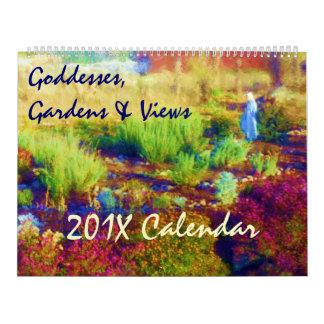 Goddesses, Gardens & Views Custom Calendar