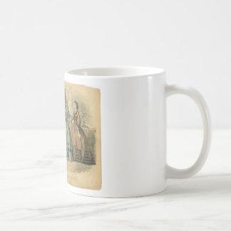 Godey's Ladies Book Victorian Fashion Plate Weddin Coffee Mug