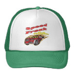 Godfather Auto Racing Father's Day Gifts Mesh Hat