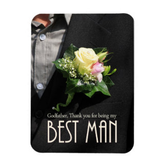 Godfather best man thank you magnet