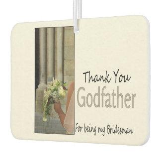 Godfather Bridesman thank you Air Freshener