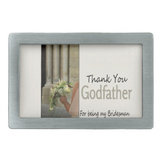 Godfather Bridesman thank you Belt Buckle