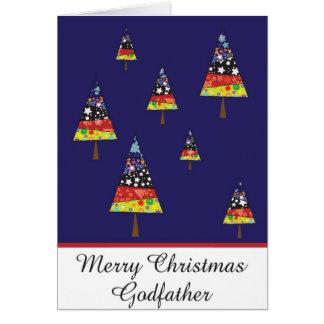 godfather christmas greeting card