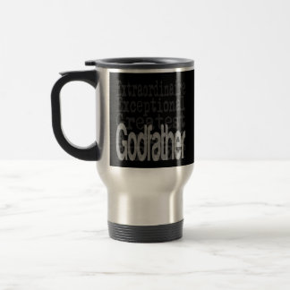 Godfather Extraordinaire 15 Oz Stainless Steel Travel Mug