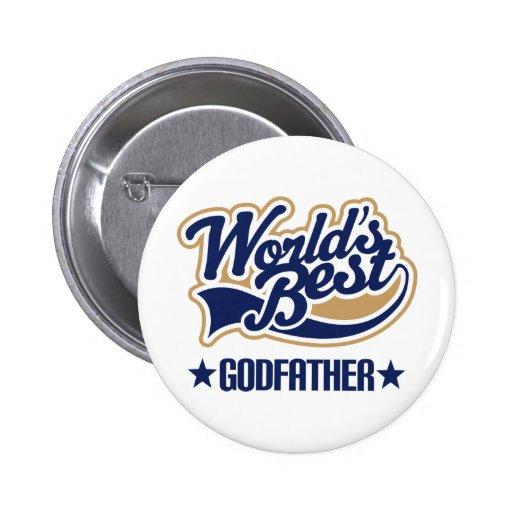 Godfather Gift 2 Inch Round Button