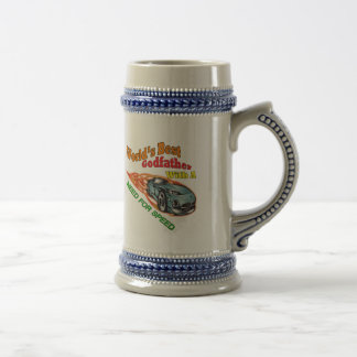 Godfather Need For Speed Father's Day Gifts 18 Oz Beer Stein