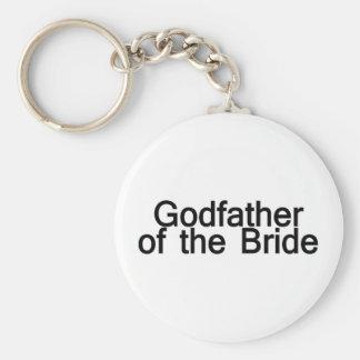 Godfather Of The Bride Basic Round Button Keychain
