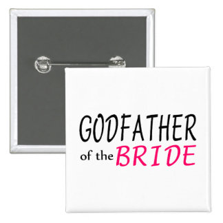 Godfather Of The Bride Button