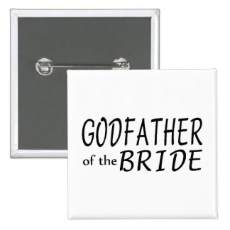 Godfather Of The Bride Pinback Button