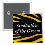 GodFather of the Groom Button