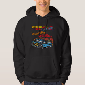 Godfather Racing Father's Day Gifts Hoodie