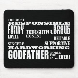 Godfathers Birthdays & Christmas : Qualities Mouse Pad