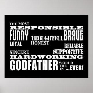 Godfathers Birthdays & Christmas : Qualities Poster