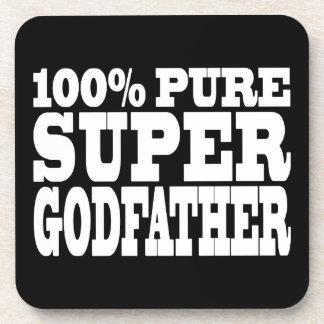 Godfathers Gifts : 100% Pure Super Godfather Coaster