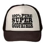 Godfathers Gifts : 100% Pure Super Godfather Trucker Hat