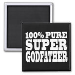 Godfathers Gifts : 100% Pure Super Godfather Refrigerator Magnets