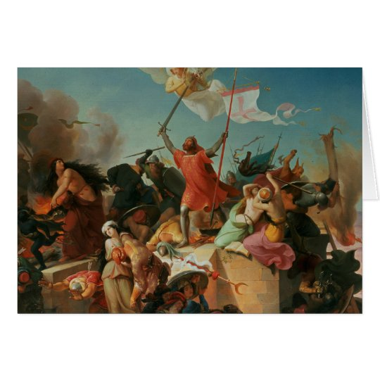 Godfrey de Bouillon, French Crusader Card