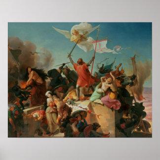 Godfrey de Bouillon, French Crusader Poster