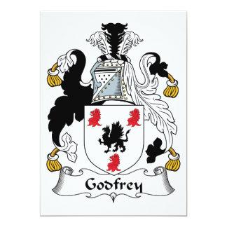 Godfrey Family Crest Card