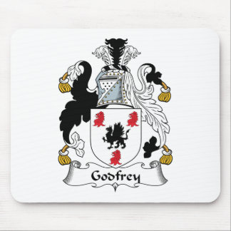 Godfrey Family Crest Mouse Pad