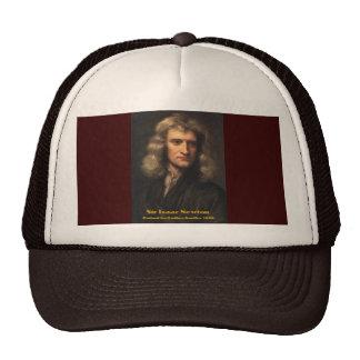 GodfreyKneller-IsaacNewton-1689 Trucker Hat