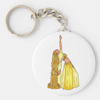 Godiva Belly Dancer Products Keychain