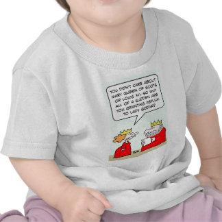 godiva de la señora del asilo de la concesión de camisetas