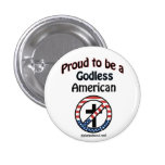 Godless American Button