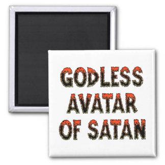 Godless Avatar of Satan Magnet